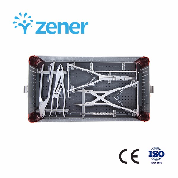Z 6 SERIES Spinal System Instruments Set,Titanium Alloy, Orthopedic Implant, Spine, Surgical, Medical Instrument Set, with CE/ISO/FDA, Dislocation, Fracture, Lumber and Cervical Verterbra, Minimally Invasive, Scoliosis, Fusion